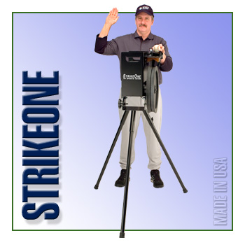 StrikeOne Baseball Machine